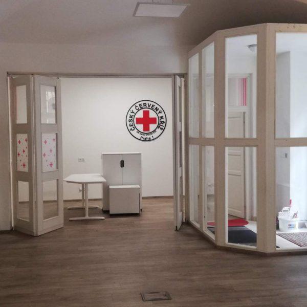 Učebna Červeného kříže Praha