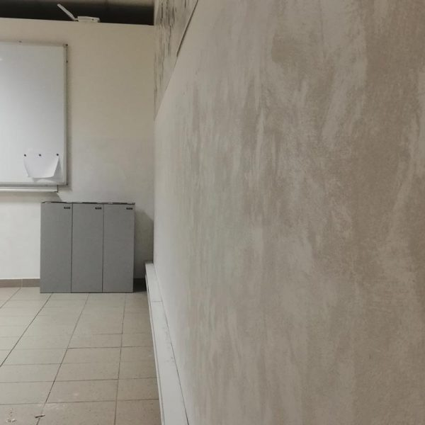 Hlazený štuk a antibakteriální nátěr zdravotnické zařízení Praha