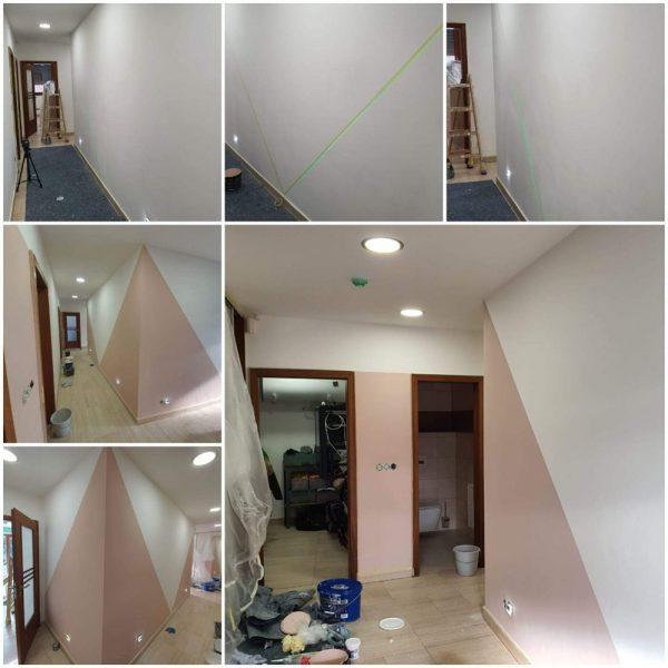 Malování interiérů prodejny