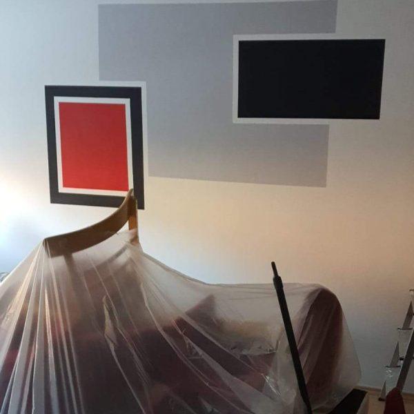 Vymalba bytu Praha