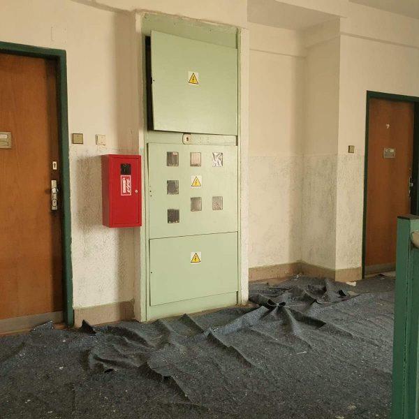 Výmalba interiéru SVJ Praha - Italská